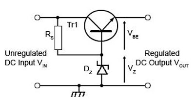 Transistorized Series Voltage Regulator