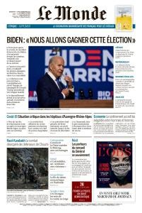 Le Monde Magazine 8 - 9 November 2020 | Le Monde News | Free PDF Download