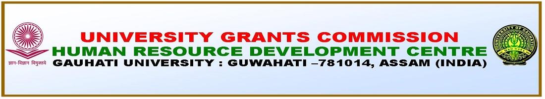 UGC-HRDC, Gauhati University (GU)