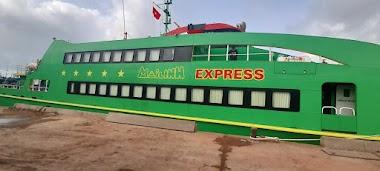 Hé lộ một số hình ảnh đầu tiên về tàu cao tốc Mai Linh Express