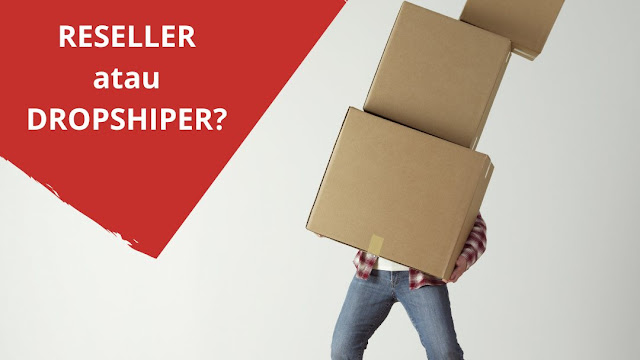 Reseller vs Dropshiper