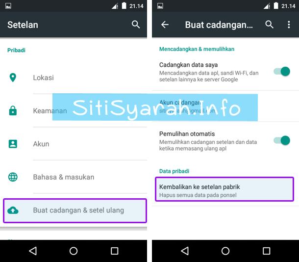 Biar Android Tidak Loading dan Lemot