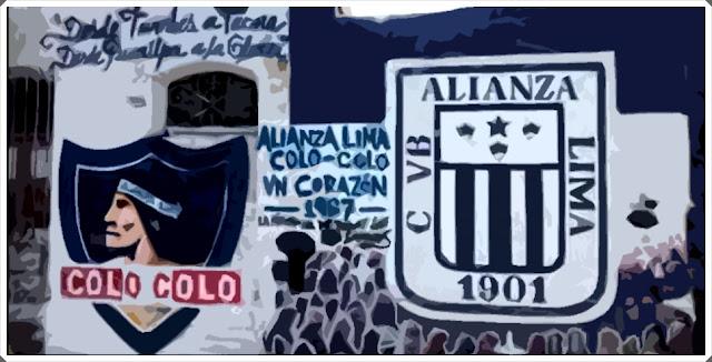 Muro Colo-Colo Alianza Lima