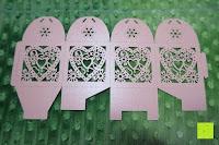 oben: 50pcs Love Heart Laser Wedding Favor Gift Box Kartonage Schachtel Bonboniere Geschenkbox Hochzeit (Pink)