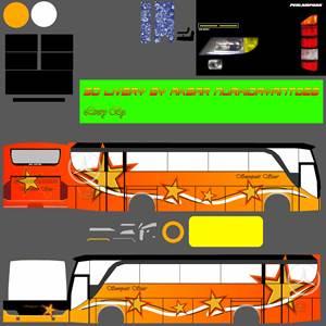 livery bussid hd sumatera sempati star 2