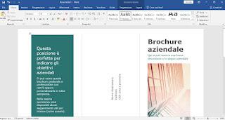 Modifica brochure