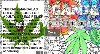 Ganja Hippie Cheaper Therapy Coloring Book For Adults Mandalas Stress Relief