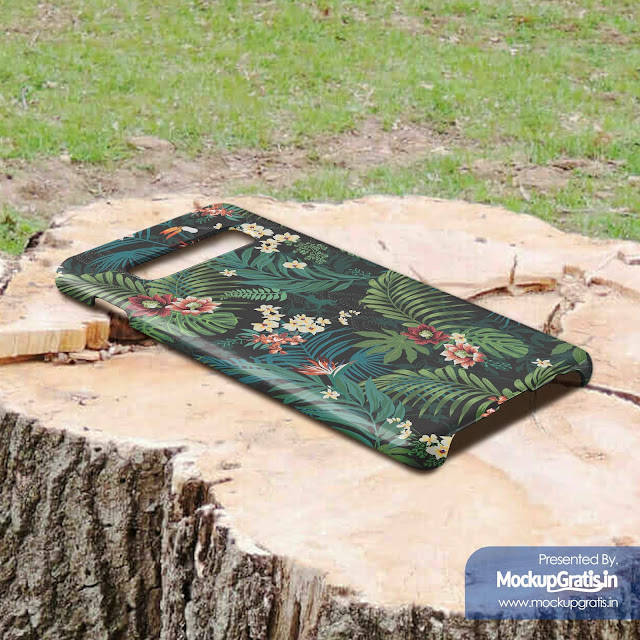 Contoh Mockup Gratis Custom Case SAMSUNG S10+