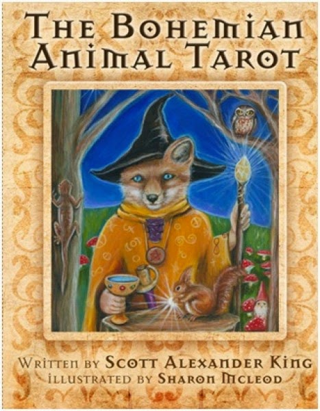 A Light In The Darkness: Introducing The Bohemian Animal Tarot