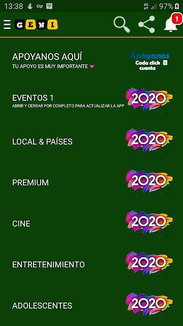تحميل تطبيق geni pro apk للاستمتاع بمشاهدة 500 قناة و بجودة رائعة افلام مسلسلات انيمي