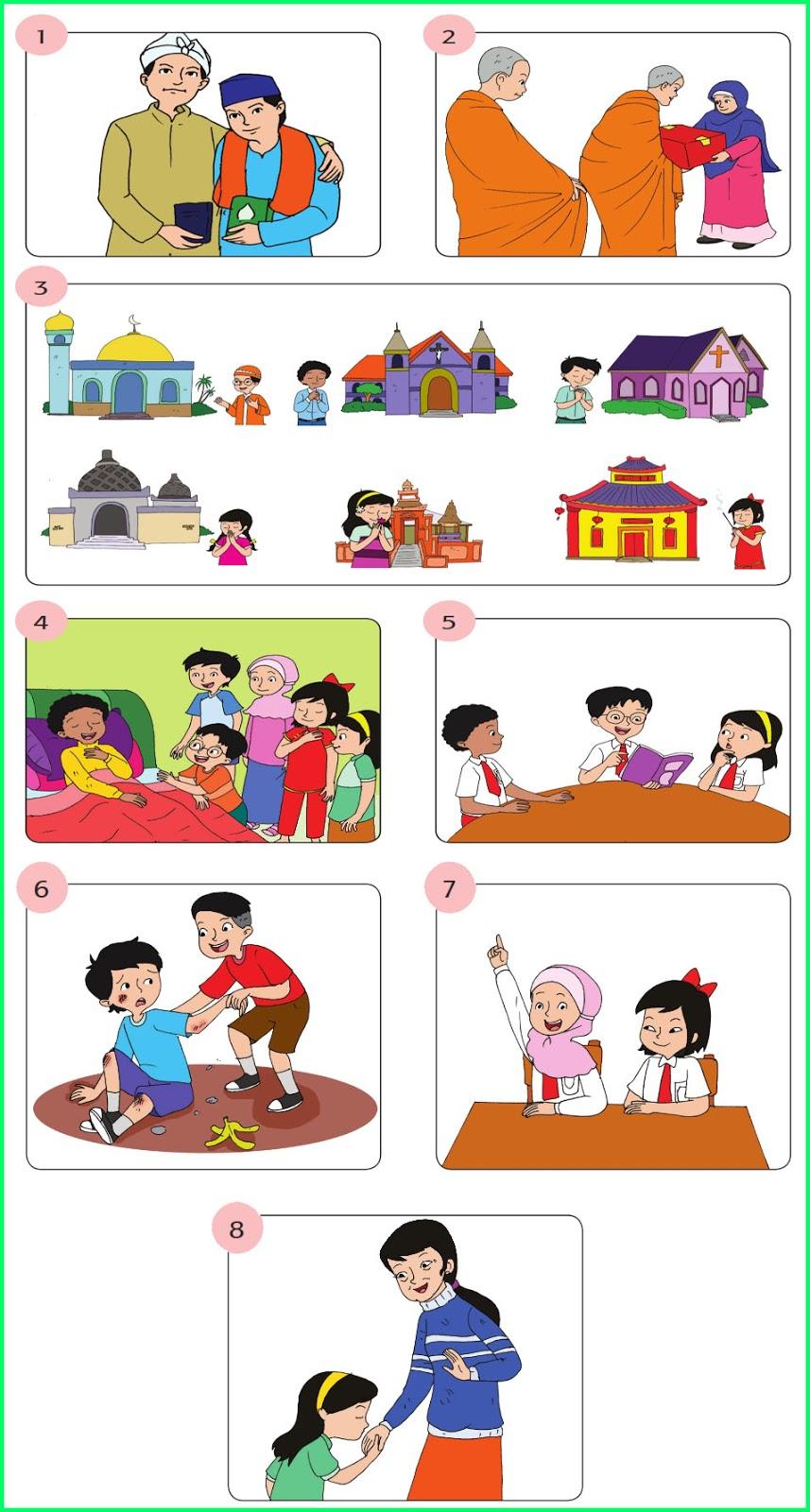 Kunci Jawaban Buku Siswa Kelas 6 Tema 1 Subtema 1 Pembelajaran 2