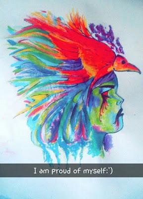 Dananeer Mobeen's painting