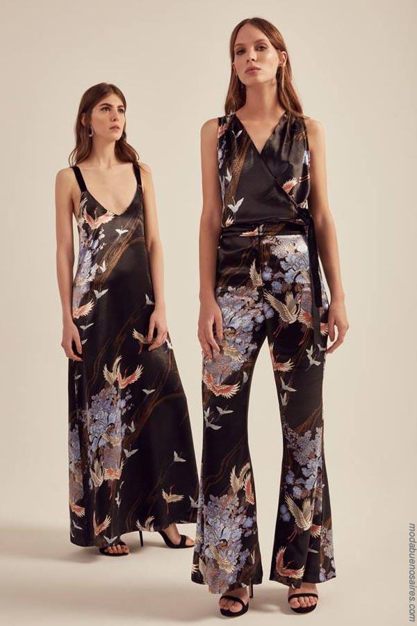 Moda 2019. Estampas de moda primavera verano 2019 vestidos, pantalnes y tops.
