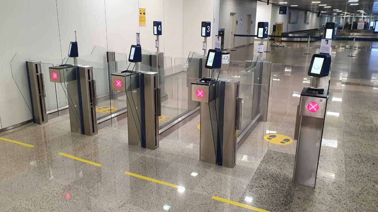 Sistema de controle de fronteira automatizado entra em funcionamento no Fortaleza Airport