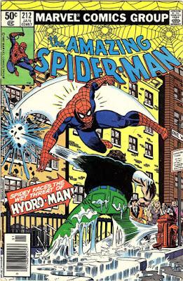 Amazing Spider-Man #212, Hydro-Man