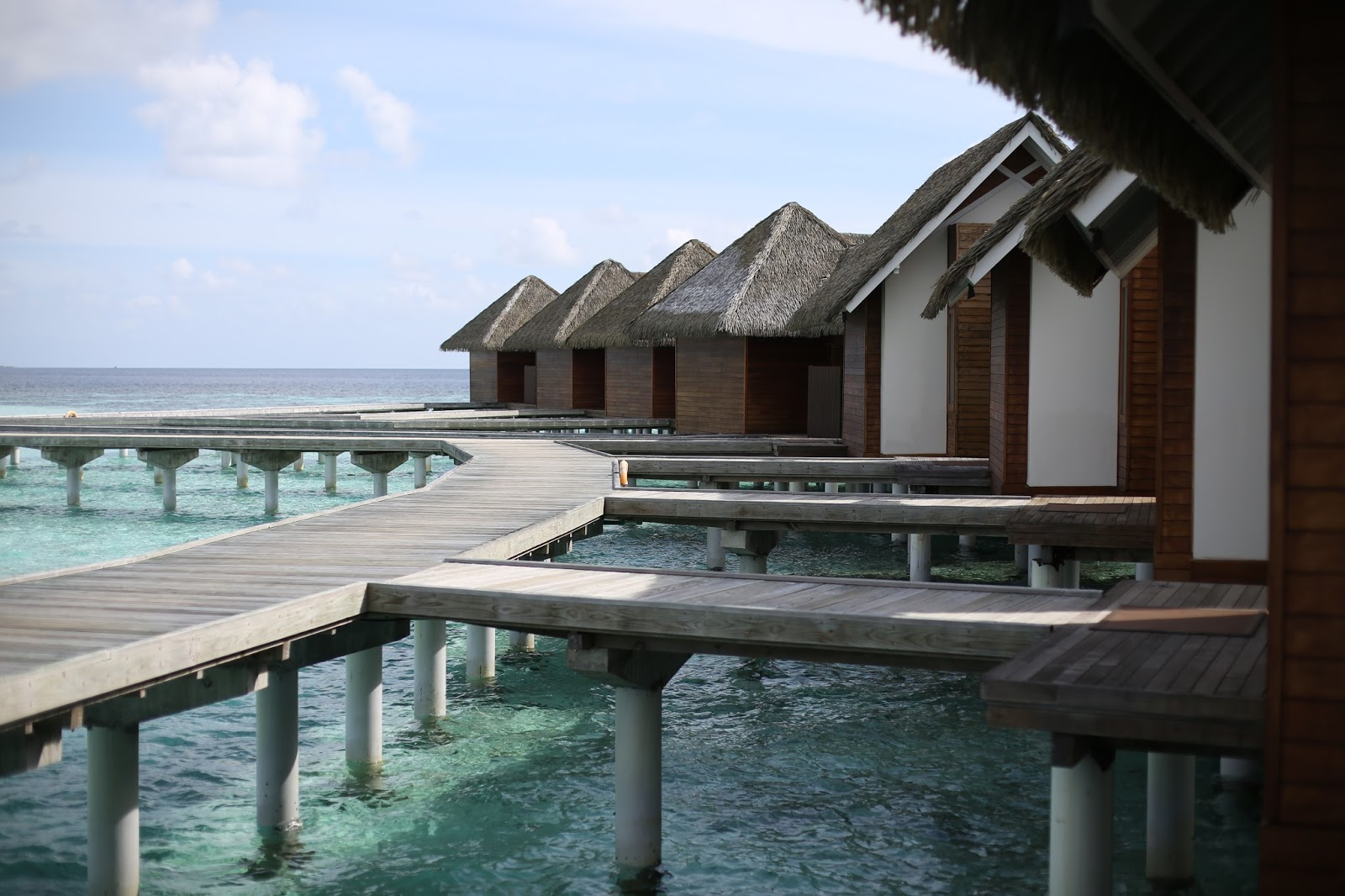 the maldives beach villa