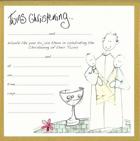 This Site Provides Handmade Printable Christening Invitations That Are Better Than The Commercially Made Cards