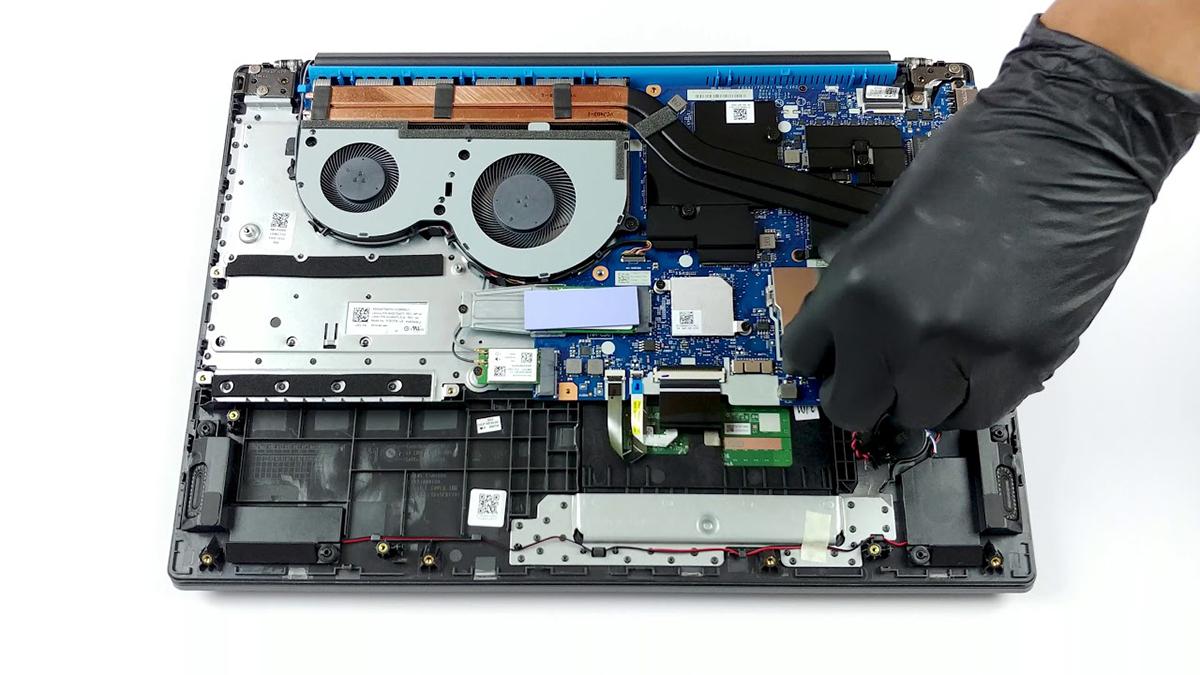 Kipas dan isi dalam dari IdeaPad L340  laptop Gaming