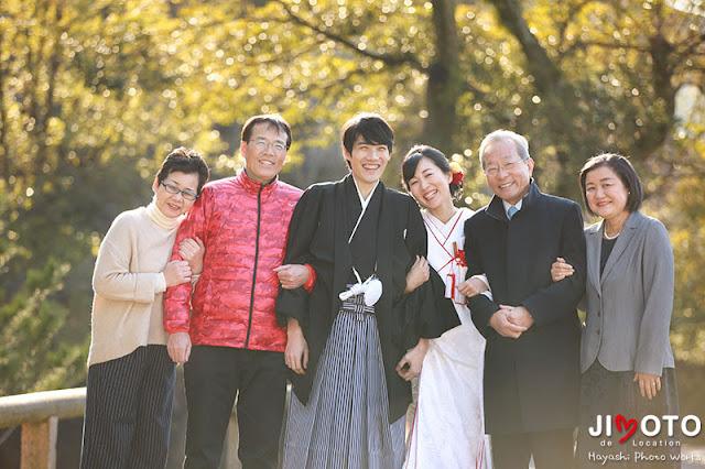 奈良での前撮り撮影