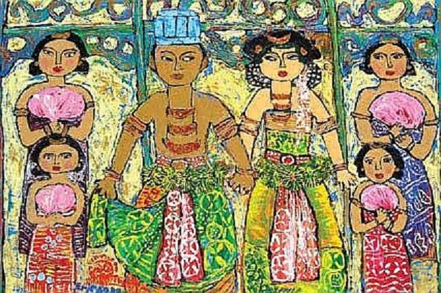 Lukisan Karya Erica Hestu Wahyuni Paling Keren