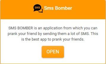 Ini adalah situs web sms bomber seperti Bombit Up APK. Kami memiliki lebih banyak API daripada bomber sms bombitup dan karenanya kami dapat mengirim lebih banyak sms.