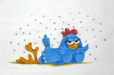 """""""galinha-pintadinha-pintura-em-tecido"""""""