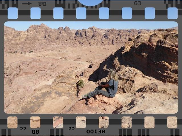 film da vedere sul trekking: panorama di Petra