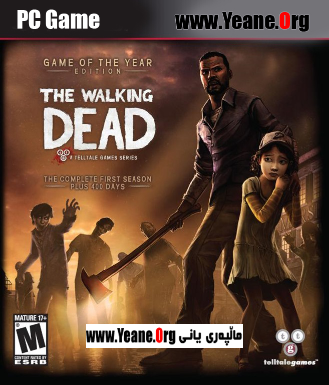The Walking Dead Episodes 1 2 and 3 PC Game یاری بۆ كۆمپیوته‌ر