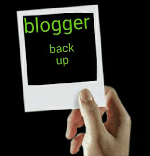 Backup Blogger blog image