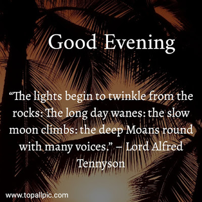 wishes good evening quotes images for girlfriend