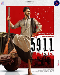 5911 LYRICS - Jatinder Gagowal | DjPunjab