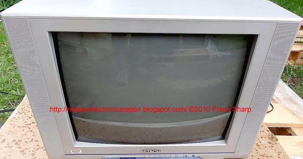 Master Electronics Repair !: HITACHI C21-FL21F CRT TV – LED