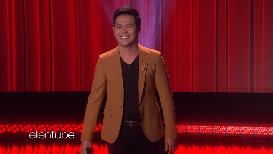 Marcelito Pomoy The Ellen DeGeneres Show