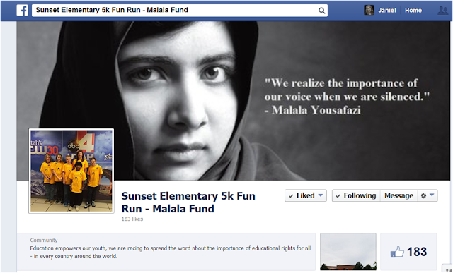 Sixth graders created their own Facebook page to advertise their 5K run to earn money for the Malala Fund.  Why?  Because they had been highly engaged in interesting, relevant reading and writing that led them to a real-world purpose!  See the blog post for more ideas and resources.