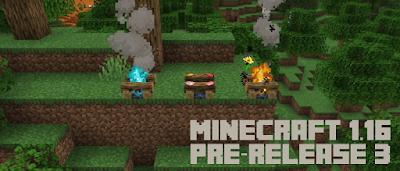 Minecraft JAVA EDITION: 1.16 PRE-RELEASE 3 Yenilikleri