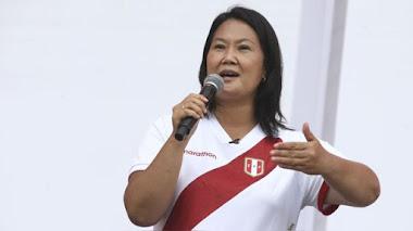 """Keiko Fujimori niega que se haya vacunado contra la COVID-19: """"Lo haré cuando corresponda"""""""