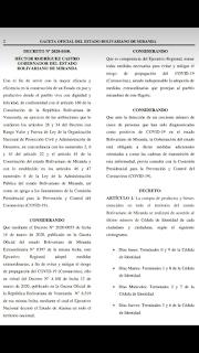 Conozca el Decreto Regional N°2020-100 para controlar la pandemia en Miranda (+DESCARGA)
