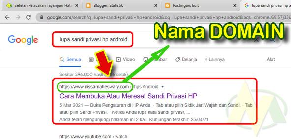 Perbedaan Antara Domain DanHosting