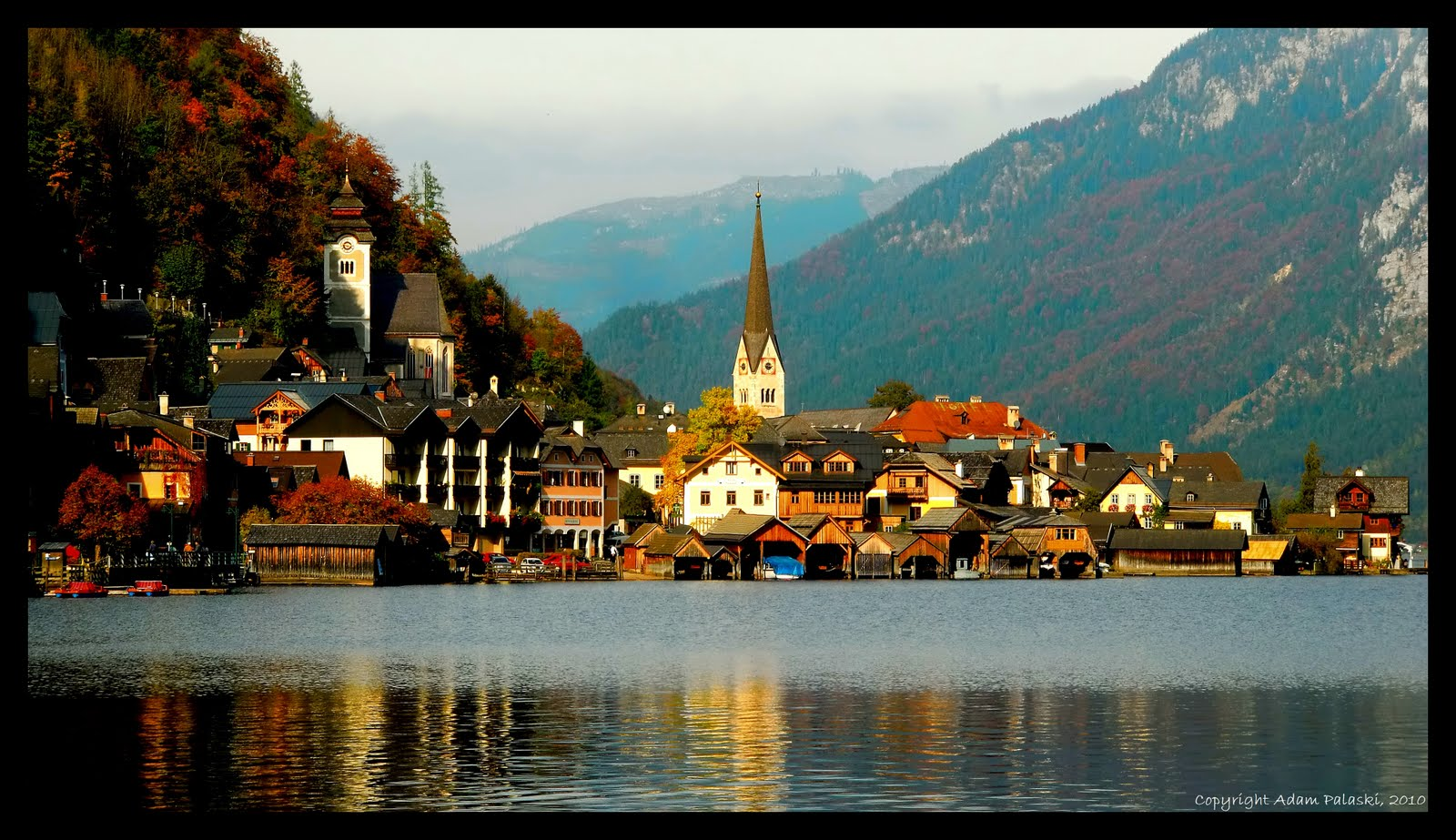 Fall in Hallstatt, Austria
