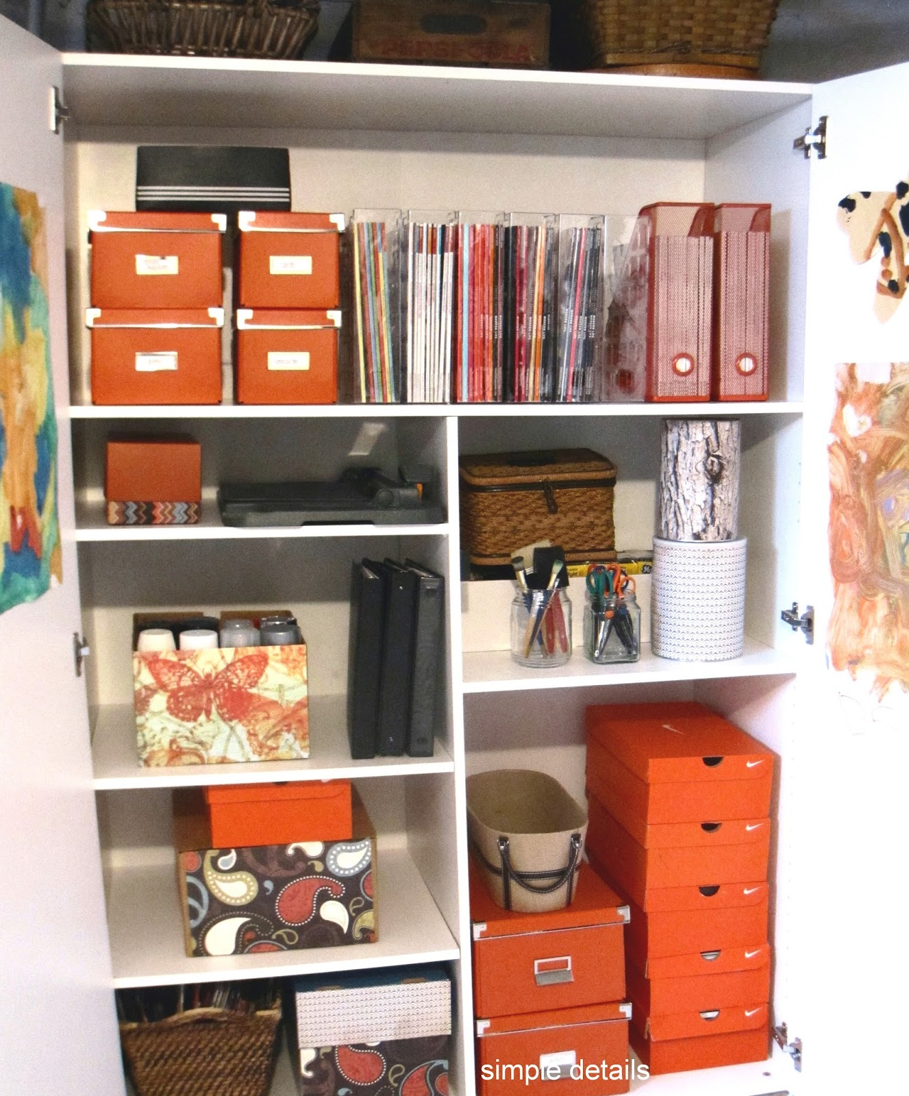 Simple Details My Five Favorites Home Organization Tips