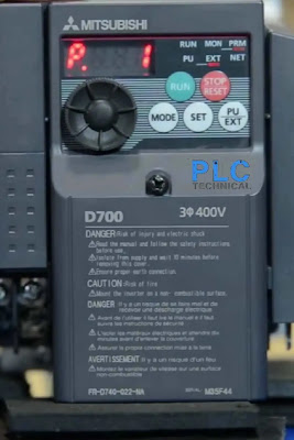Parameter P1 Mitsubishi D700