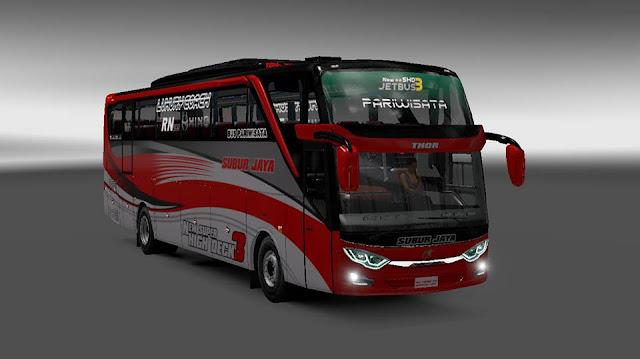 Mod ets2 Jetbus 3 SHD Free By Rindray