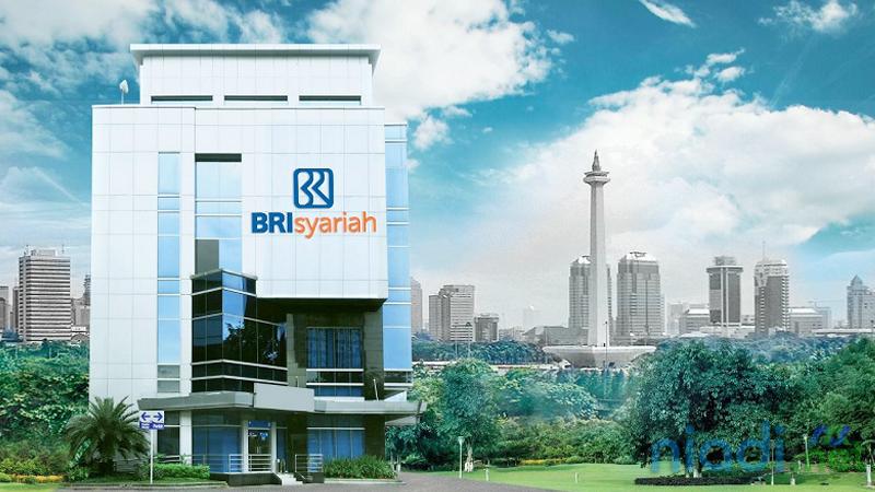 gedung bank bri syariah jakarta indonesia