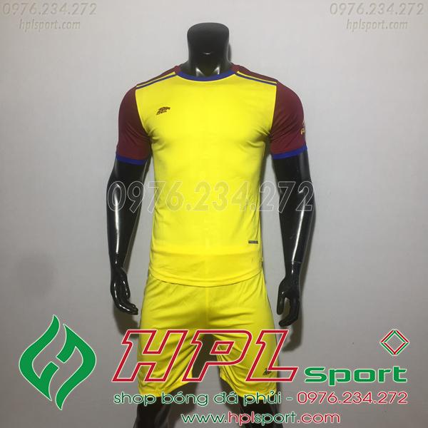 Áo bóng đá ko logo Eureka HAT TV  Màu Vàng