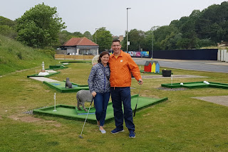 At our 900th minigolf course - the North Bay Crazy Golf course in Scarborough