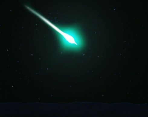 TradCatKnight: Planet X incoming: Bright green meteor