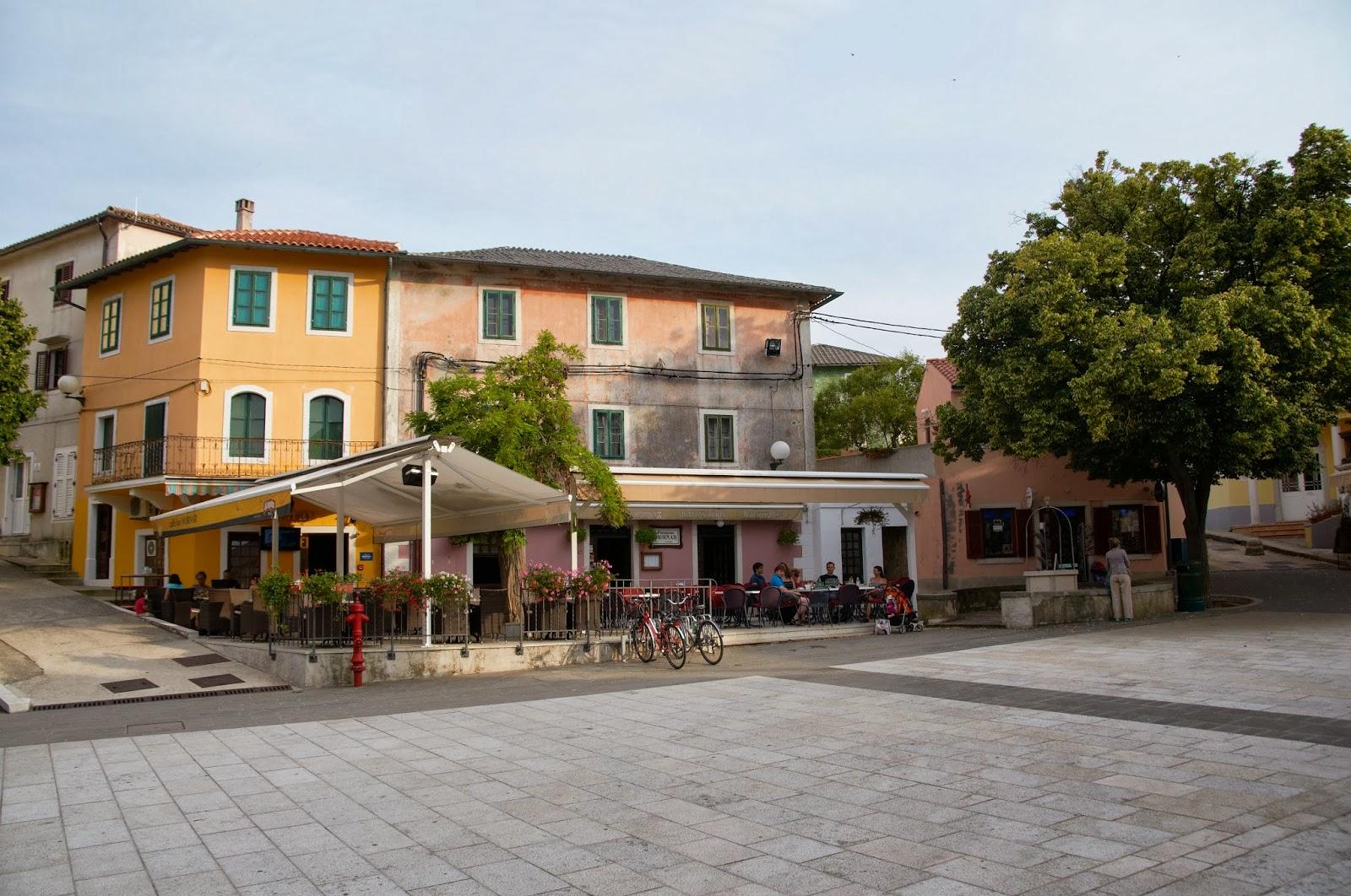 zabudowa miasteczko Chorwacja Nerezine