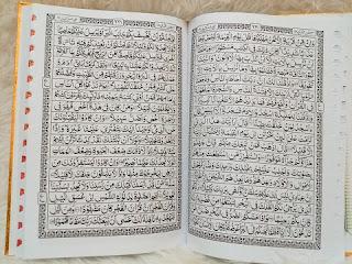al-quran ukuran besar, al-quran ukuran super jumbo, al-quran tulisan besar, al-quran huruf besar
