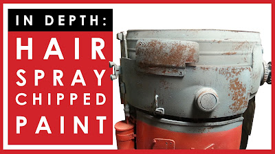 Painting and weathering: in depth hairspray chipping video tutorial
