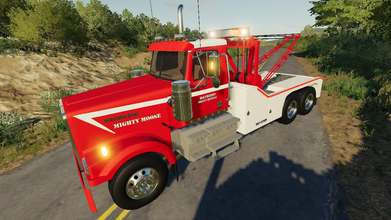 FS19 Tow Truck/ Wrecker Pack Update V0.2.2